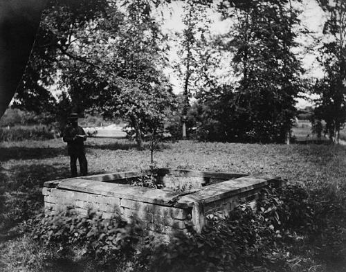 Photograph of the Holy Well, Bawburgh. From Picture Norfolk.