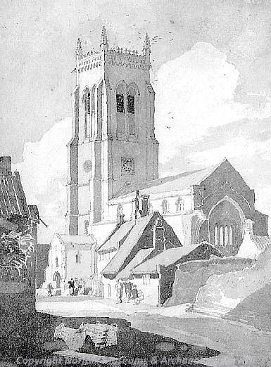 Photograph of 'Cromer Church, Norfolk' by J.S. Cotman, 1810 to 1811.