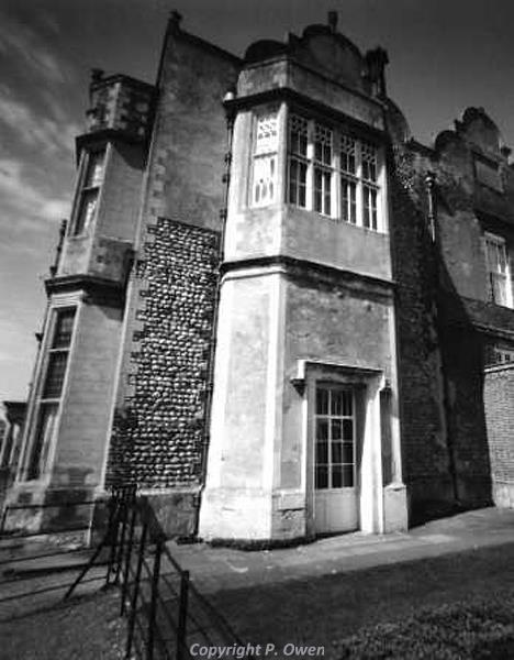 Pin-hole camera photograph of Felbrigg Hall by Peter Owen.