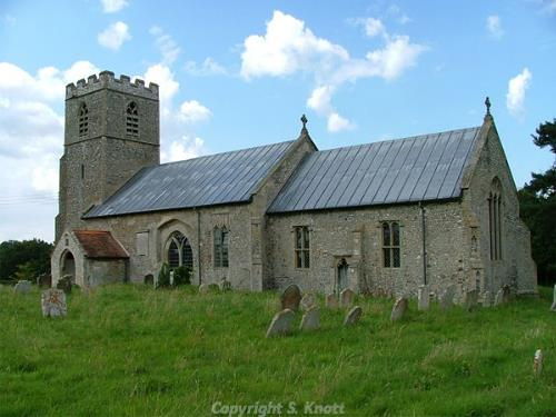 Photograph of SS Peter and Paul's Church, Oulton, Photograph from www.norfolkchurches.co.uk