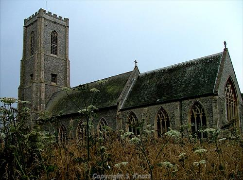 Photograph of St James's Church, Southrepps. Photograph from www.norfolkchurches.co.uk