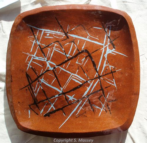Ceramic dish by Sarh Massey.
