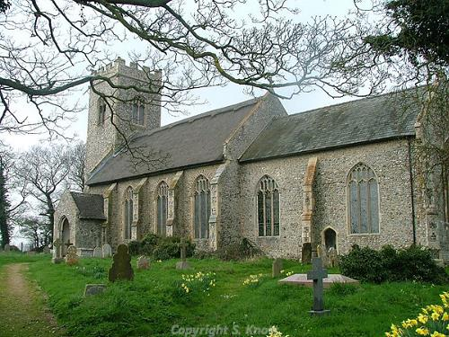 Photograph of St Nicholas' Church, Swafield. Photograph from www.norfolkchurches.co.uk