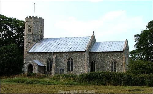 Photograph of St Michael's Church, Sidestrand. Photograph from www.norfolkchurches.co.uk