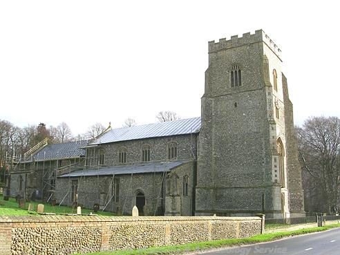 Photograph of St Mary's Church, North Creake.