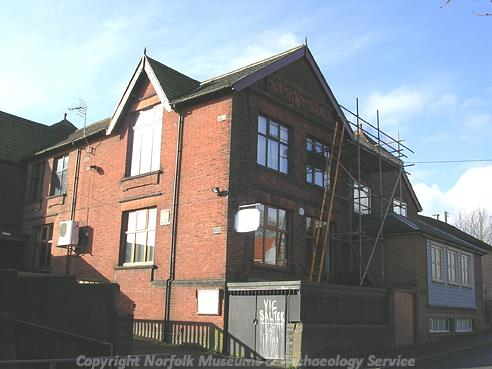 Photograph of Melton Constable Railway Institute.