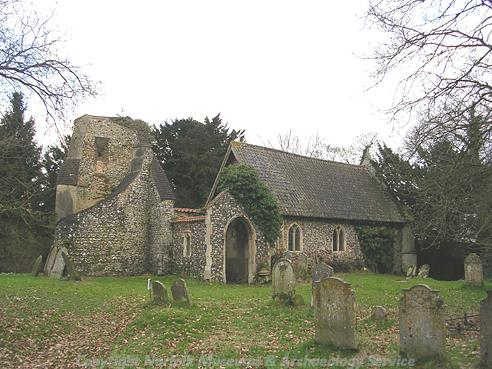 Photograph of St Margeret's Church, Morton on the Hill.