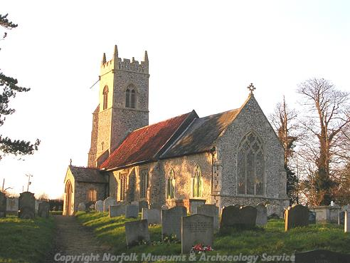 Photograph of St Peter's Church, Mundham.