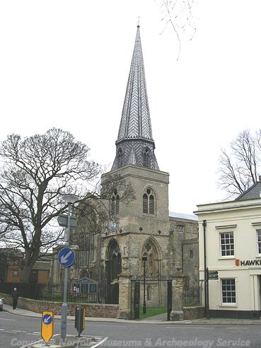 Photograph of St Nicholas' Chapel, King's Lynn.