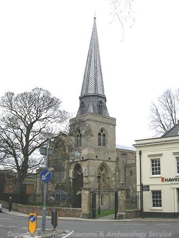 Photograph of St Nicholas' Chapel, King's Lynn.