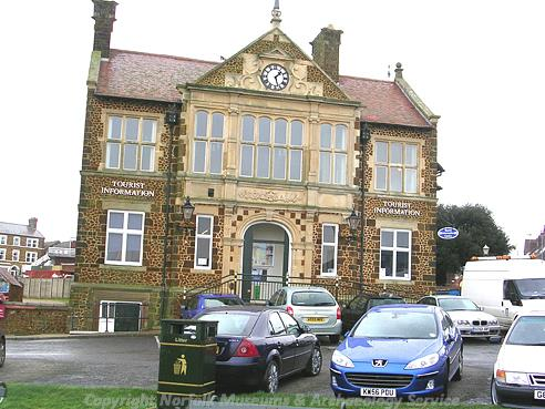 Photograph of Hunstanton Town Hall.