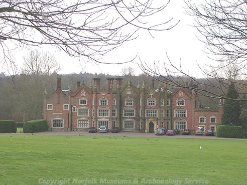 Photograph of Great Withcingham Hall.