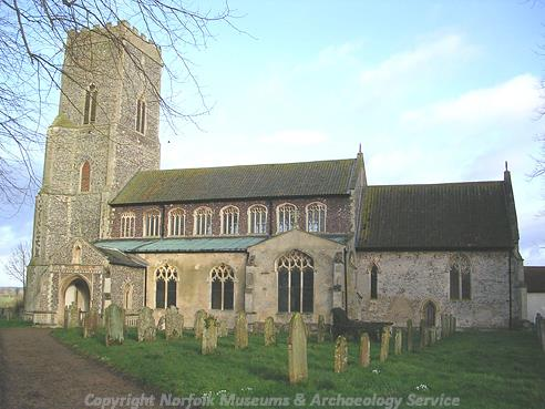 Photograph of St Mary's Church, Great Witchingham.