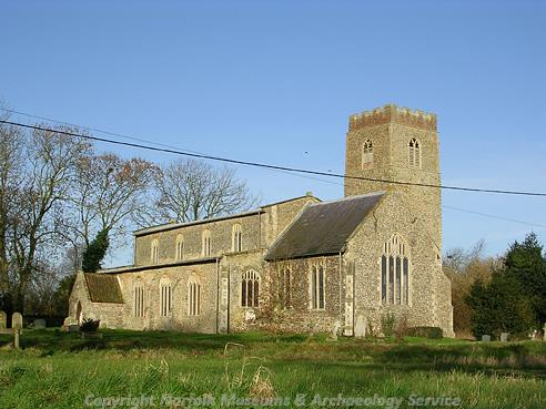 Photograph of St Peter's Church, Guestwick.