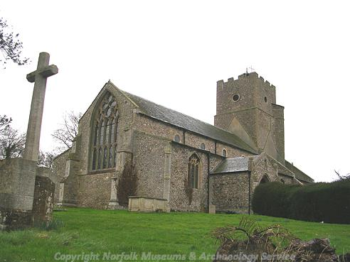 Photograph of St Mary's Church, Heacham.