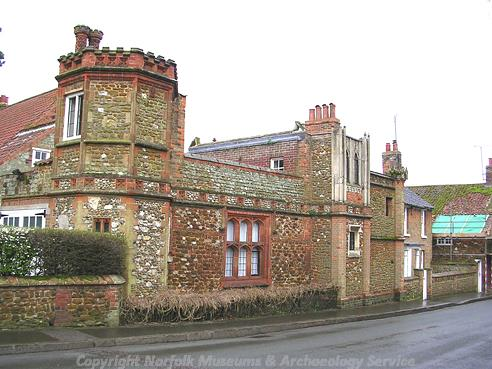 Photograph of Turret House, Heacham.