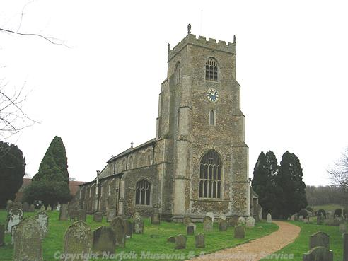 Photograph of St Nicholas' Church, Dersingham.