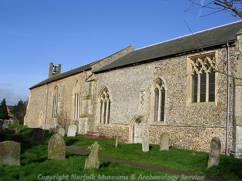 All Saints' Church, Briston.