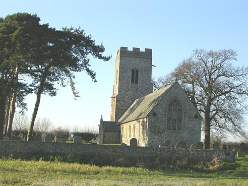 Photograph of St Peter's Church, Carleton St Peter.