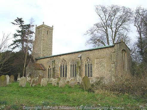 Photograph of St John the Baptist's Church, Alderford.