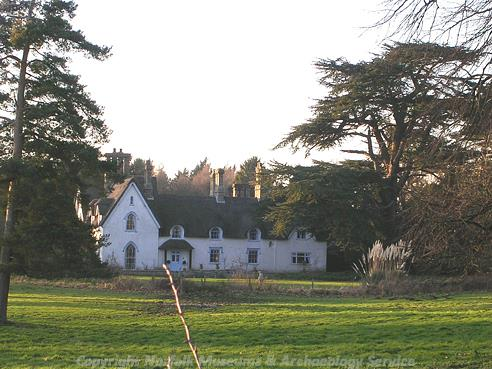 Photograph of Bergh Apton House.