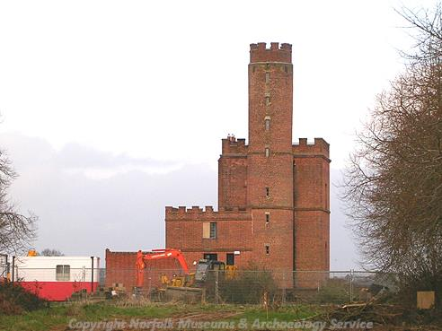 Photograph of Blickling Tower House.