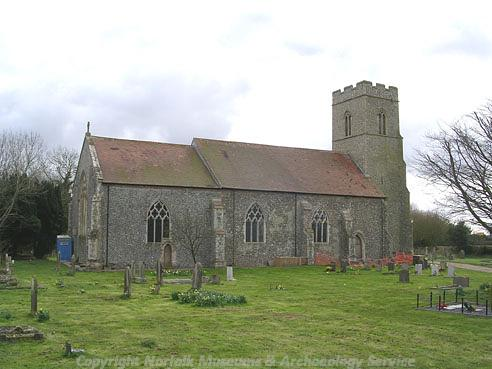 Photograph of St Mary's Church, Antingham.