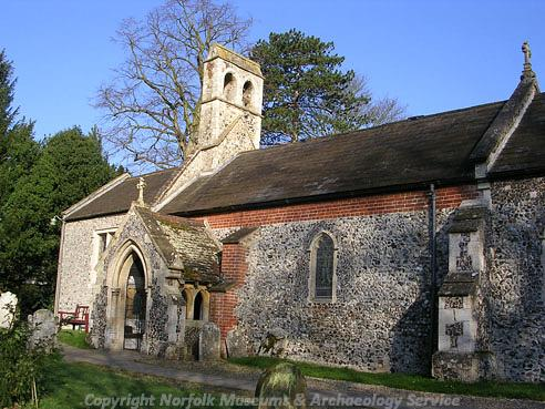 Photograph of St Laurence's Church, Brundall.