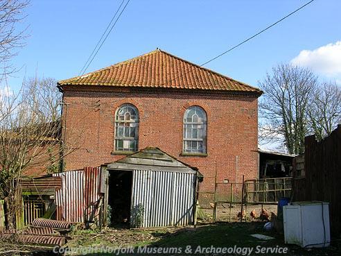 Photogrpah of Old Moor Chapel, East Tuddenham.
