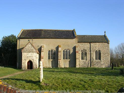 Photograph of St Peter's Church, Easton.