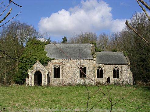 Photograph of St Peter's Church, Burlingham.