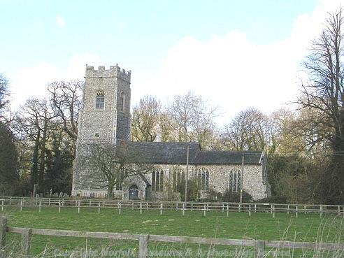 Photograph of St Andrew's Church, Lingwood.