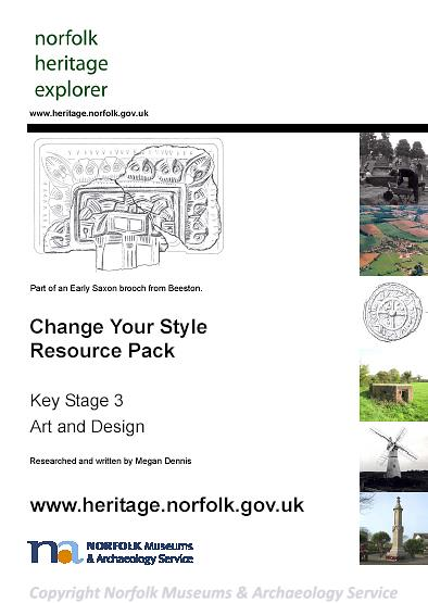 Photograph of the front cover of the Change Your Style Resource Pack.