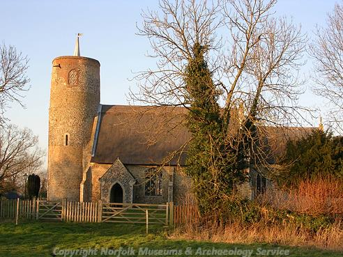 Photograph of St Margaret's Church, Seething.