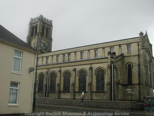 Photograph of St Spyridou's Church, Great Yarmouth.