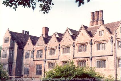 Photograph of Breckles Hall, Stow Bedon.