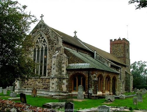 Photograph of St Mary's Church, South Wootton. Photograph from www.norfolkchurches.co.uk