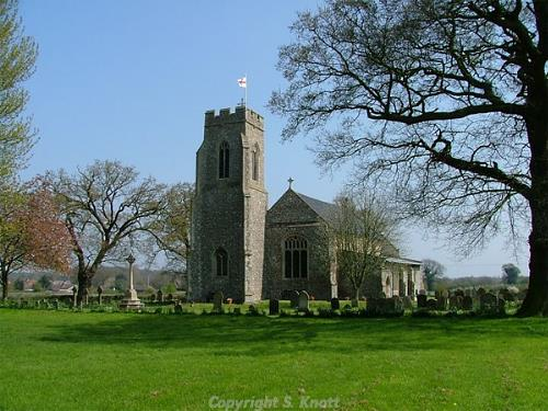 Photograph of St Bartholemew Church, Sloley. Photograph from www.norfolkchurches.co.uk