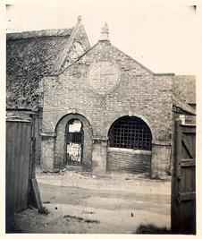 Photograph of a post medieval lock-up in Thetford.