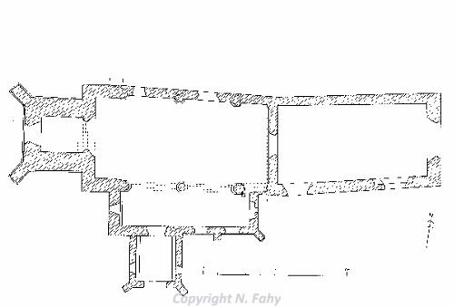 Babingley church plan 1 (after Batcock)