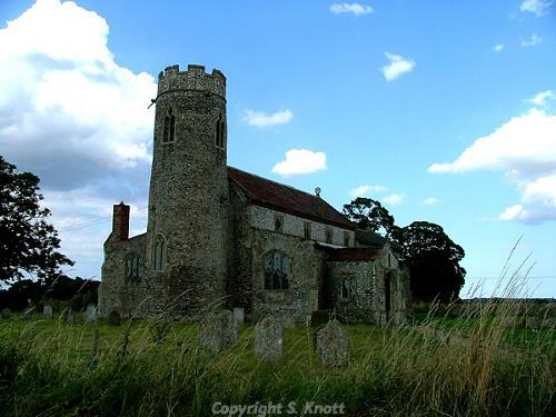 St Andrews Church, Wickmere. Photograph from www.norfolkchurches.co.uk.