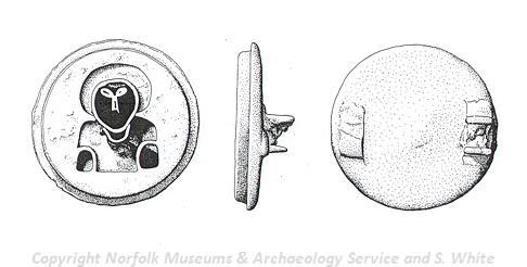 Middle Saxon Heilgenfibula.