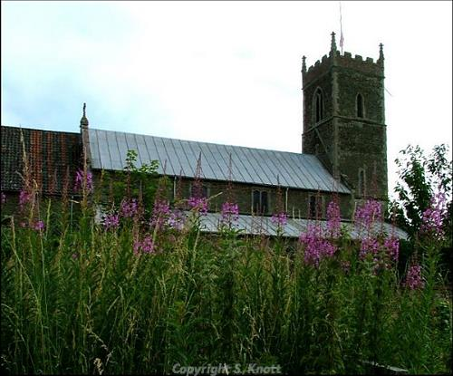 SS Peter and Paul's Church, Watlington. Photograph from www.norfolkchurches.co.uk.