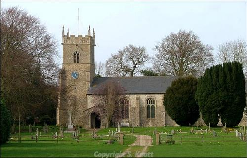 St Mary's Church, Whissonsett. Photograph from www.norfolkchurches.co.uk.