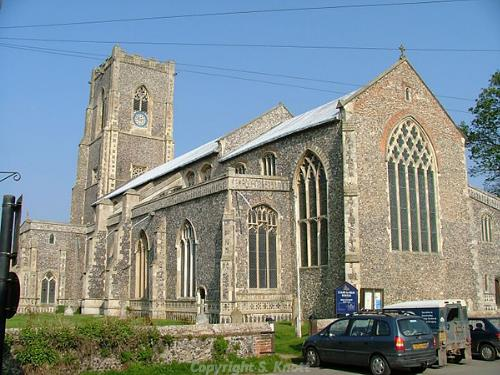 St Mary's Church. Photograph from www.norfolkchurches.co.uk.