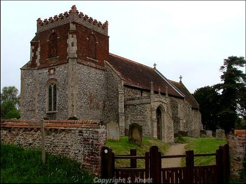 All Saints Church, Wood Norton. Photograph from www.norfolkchurches.co.uk.
