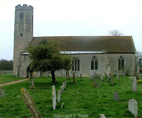 All Saints Church, Woodton. Photograph from www.norfolkchurches.co.uk