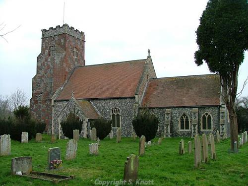All Saints Church, Wheatacre. Photograph from www.norfolkchurches.co.uk.