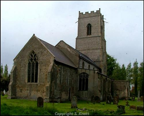 St Andrew's Church, Wood Dalling. Photograph from www.norfolkchurches.co.uk.