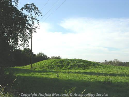 Pepper Hill Barrow, a Bronze Age bowl barrow.